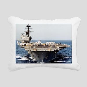 saratoga cv rectangle ma Rectangular Canvas Pillow