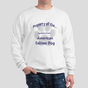 American Eskimo Property Sweatshirt