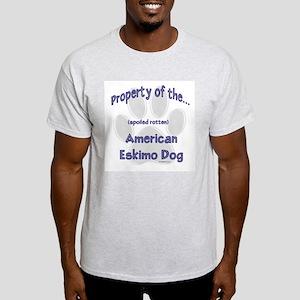 American Eskimo Property Light T-Shirt