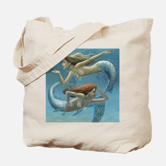 siren sisters covered version Tote Bag