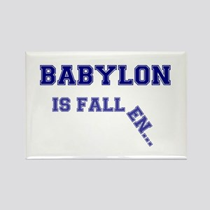 BABYLON IS FALLEN.... LARGE BROKE Rectangle Magnet
