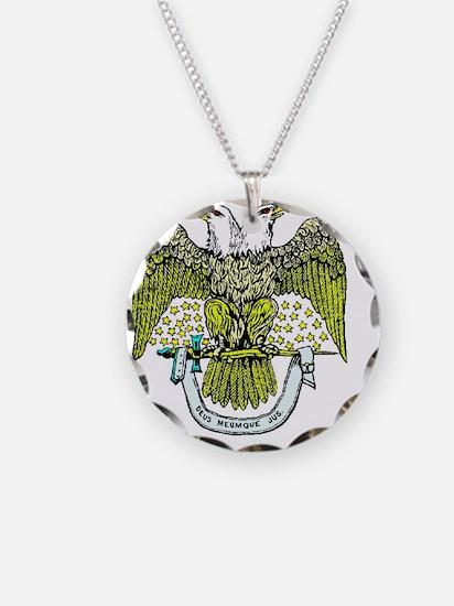 Scottish Rite Eagle Necklace