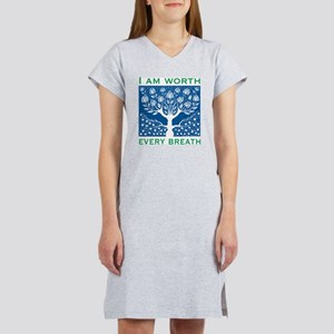 Smoking Tree Blue T-Shirt