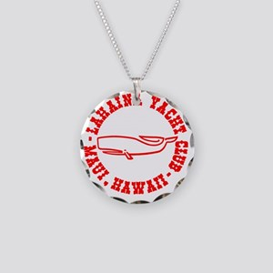 LYC Classic Whale Necklace Circle Charm