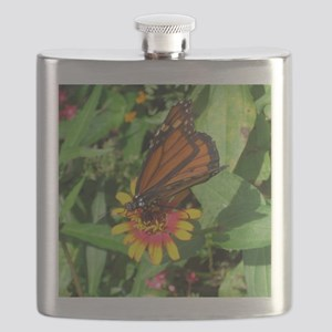 Monarch Butterfly2 Flask