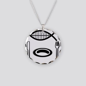 10x10_apparel Necklace Circle Charm