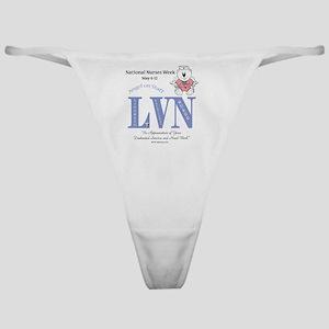 LVN-aosnat-wk Classic Thong