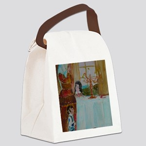 Jewish Canvas Lunch Bag