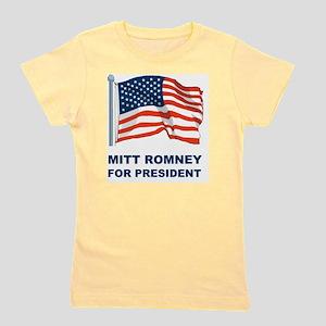 MITT ROMNEY for presidentL Girl's Tee