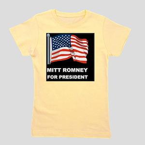 MITT ROMNEY for president dBUTT Girl's Tee