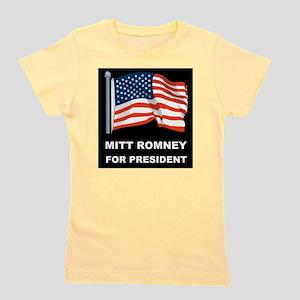 MITT ROMNEY for president d Girl's Tee