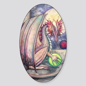 Dragons Perch Sticker (Oval)