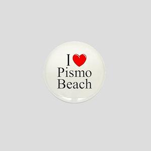 """""""I Love Pismo Beach"""" Mini Button"""