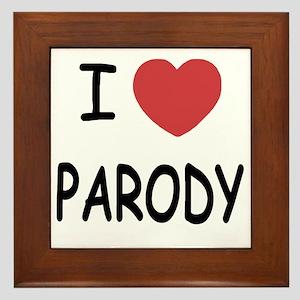 PARODY Framed Tile