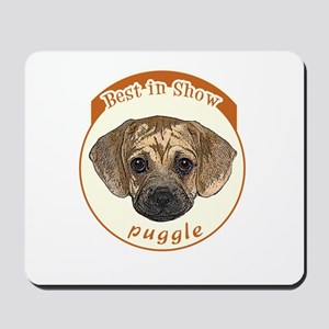 best in show puggle Mousepad
