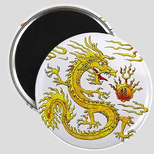 Golden Dragon Magnet