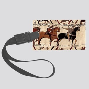 coinpurse_front_bayeux Large Luggage Tag