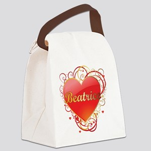 Beatrice-Valentines Canvas Lunch Bag