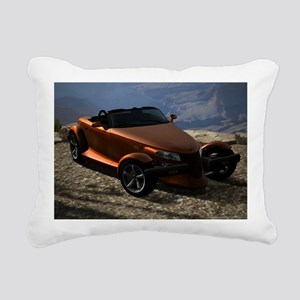 Plymouth Prowler 2002 Rectangular Canvas Pillow