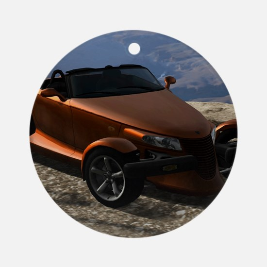 Plymouth Prowler 2002 Round Ornament