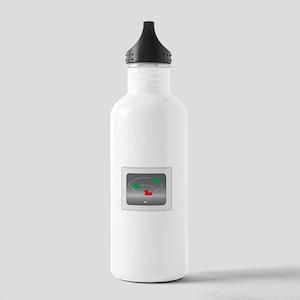 heartbeat_dark-02 Stainless Water Bottle 1.0L