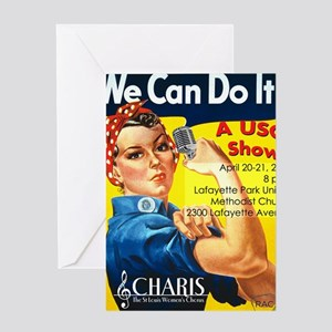 We Can Do It CAFEPRESS v2 Greeting Card