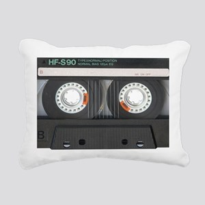 Cassette Tioletry Bag Rectangular Canvas Pillow