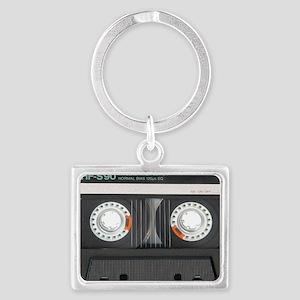 Cassette Tioletry Bag Landscape Keychain