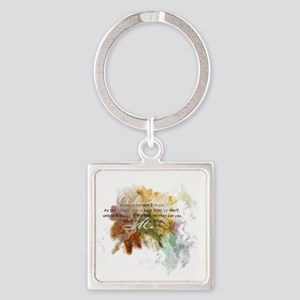 Abide in Me Keychains