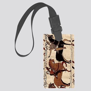 ipad2cover2_bayeux Large Luggage Tag