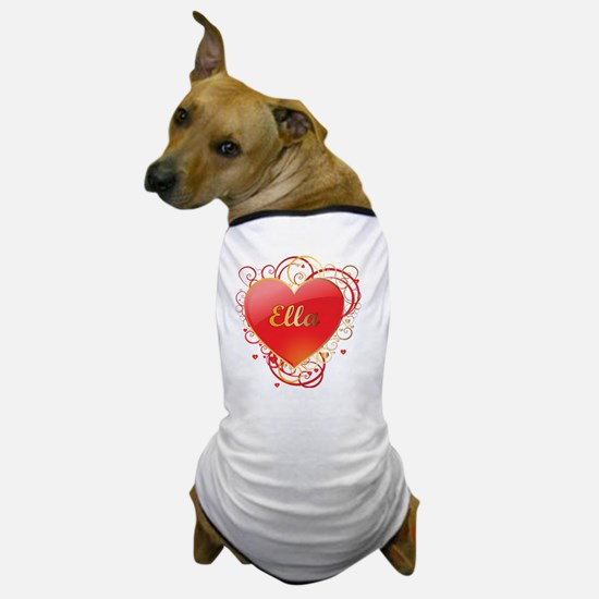 Ella-Valentines Dog T-Shirt