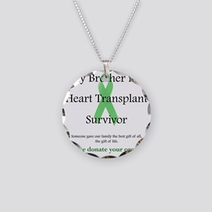 BrotherHeartTransplant Necklace Circle Charm