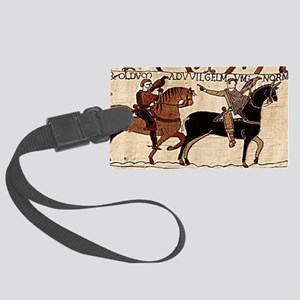 calendarprint_bayeux Large Luggage Tag