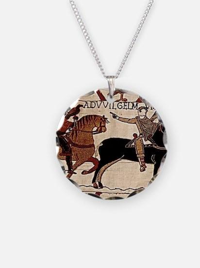 calendarprint_bayeux Necklace Circle Charm