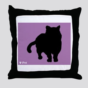 Shorthair iPet Throw Pillow