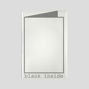 Blank Inside Rectangle Magnet
