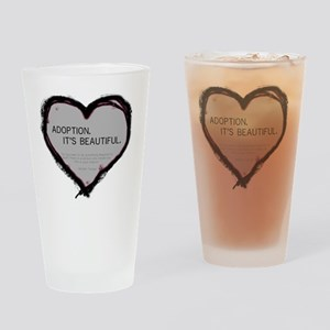 adoption beautiful 2 Drinking Glass