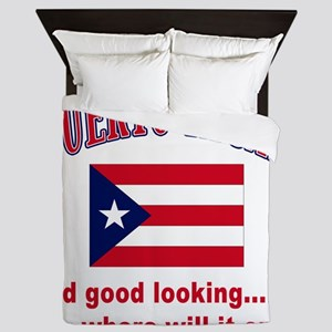 puerto rican Queen Duvet