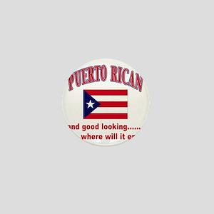 puerto rican Mini Button