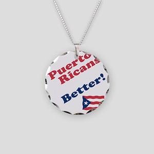 PR do it better Necklace Circle Charm