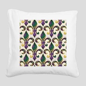 FleurMGbeadsJPFlipf Square Canvas Pillow