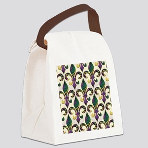 FleurMGbeadsJPFlipf Canvas Lunch Bag