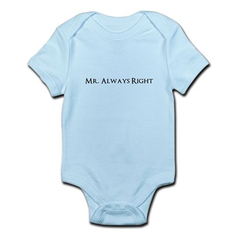 Mr Always Right Body Suit