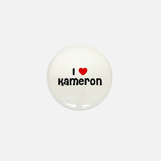 I * Kameron Mini Button