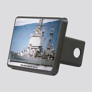 lbeach large framed print Rectangular Hitch Cover