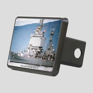 lbeach large framed print Rectangular Hitch Cover