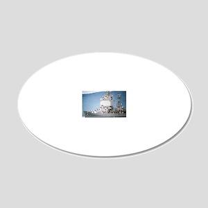 lbeach large framed print 20x12 Oval Wall Decal