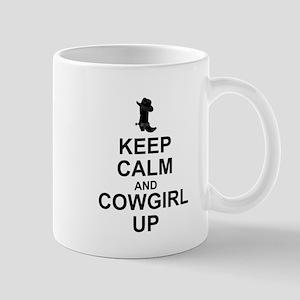 KEEP CALM: COWGIRL UP Mugs