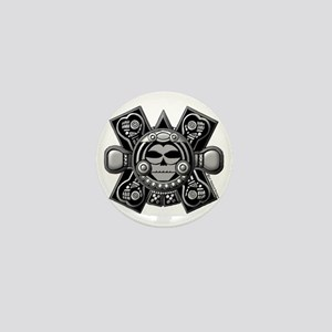 mayancrossbones Mini Button
