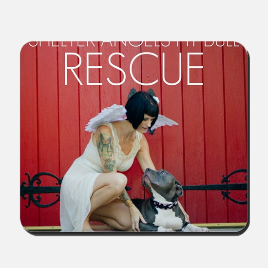 Red Rescue Mousepad